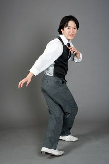 Free Asian Male Jazz Dancer Royalty Free Stock Images - 20967349