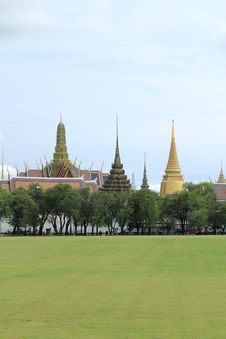 Free Wat Phra Kaew Royalty Free Stock Photo - 20967455