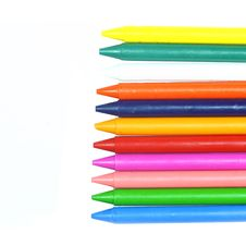 Free Crayons Wax Royalty Free Stock Photo - 20967525