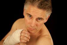 Free Man Boxing Royalty Free Stock Photo - 20968465