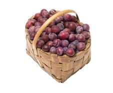 Free Crop Of Plums. Stock Images - 20969054