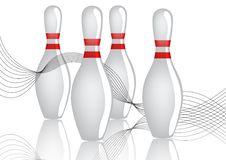 Free Bowling Pins Illlustration Royalty Free Stock Image - 20969596