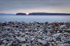 Iceland: Pebbly Beach Royalty Free Stock Photos