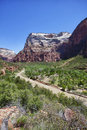 Free River In The Zion Canyon National Park, Utah Royalty Free Stock Photography - 20973117