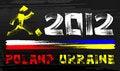 Free Grunge 2012 Poland & Ukraine Stock Image - 20977201