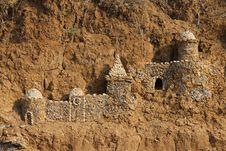 Free Castle Of Sand Royalty Free Stock Photo - 20970425