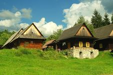 Free Wooden Houses Stock Image - 20970611