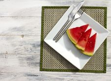 Free Melon Slices Stock Photography - 20970612