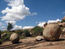 Granite Boulders Royalty Free Stock Photo
