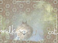 Free Milky Cat Stock Photo - 20970970