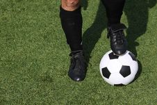 Free Soccer Player Royalty Free Stock Photos - 20971838