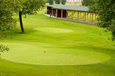 Golf Park Stock Photography
