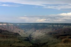 Grand Canyon National Park Cool Sky Royalty Free Stock Photo