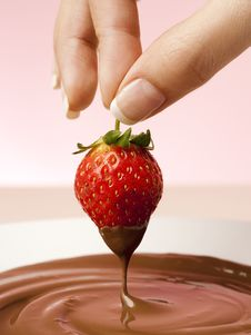 Free Choco Strawberry Stock Images - 20973854