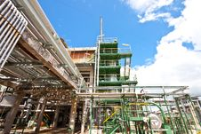 Free Petrochemical Plant Stock Photos - 20974003