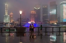 Free Pudong In Shanghai, China. Royalty Free Stock Photography - 20974047