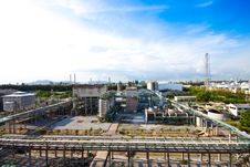 Free Petrochemical Plant Royalty Free Stock Images - 20974059