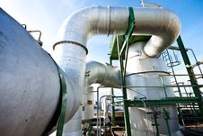 Free Petrochemical Plant Royalty Free Stock Image - 20974116