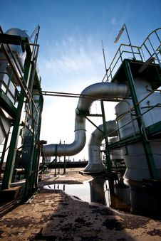 Free Petrochemical Plant Royalty Free Stock Image - 20974156