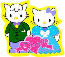 Free Teddy Bear Couple Stock Photos - 20974313