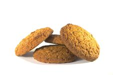 Free Oatmeal Cookies Royalty Free Stock Photography - 20974587