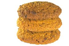 Free Towel Of Oatmeal Cookies Royalty Free Stock Images - 20974589