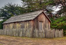 Old Condemned Barn Stock Photography