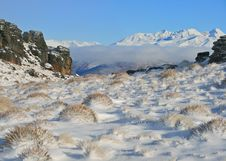 Free Winter On The Old Woman Range Royalty Free Stock Image - 20974736