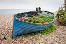 Free Boat With Flowers Stock Photo - 20974810