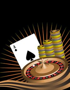 Free Gambling Themed Image. Stock Images - 20974814