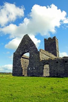 Clare Abbey Co. Clare Ireland Royalty Free Stock Image