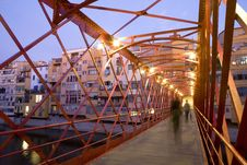 Free Girona S Eiffel Bridge Stock Photo - 20976000