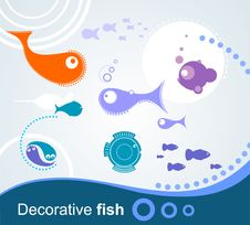 Free Decorative Fish Royalty Free Stock Photography - 20976087