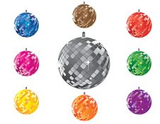 Free Discoballs Royalty Free Stock Photography - 20976117