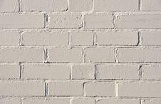 Free White Brick Wall Royalty Free Stock Photos - 20976308