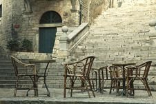 Free Le Bistrot Chairs Royalty Free Stock Photos - 20976738