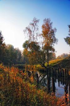 Free Autumn Sunset Stock Photography - 20976822