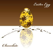 Free Chocolate Easter Egg Stock Photo - 20976940