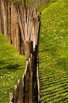 Free A Wood Fence Royalty Free Stock Photos - 20977348