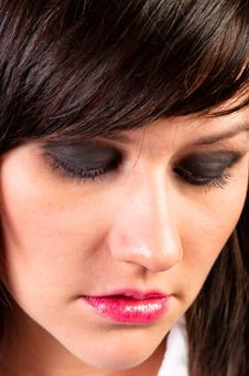 Free Depressed Young Woman Royalty Free Stock Photo - 20977755