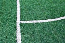 Free Fake Grass Soccer Field Stock Photo - 20978830
