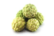 Free 5 Custard Apples Stock Photos - 20979053