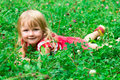 Free Beautiful Girl In The Meadow Royalty Free Stock Images - 20981699