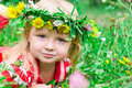 Free Beautiful Girl In The Meadow Royalty Free Stock Photography - 20981847