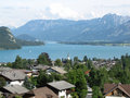 Free Town On The Lake Royalty Free Stock Photo - 20983105