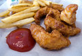 Free Chicken Strips Royalty Free Stock Photo - 20986855