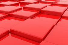 Free Red Cubes Stock Images - 20980604