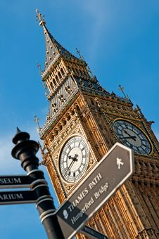 Free Big Ben, London Royalty Free Stock Images - 20980719
