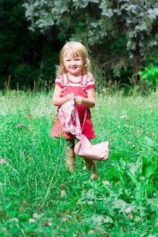 Free Beautiful Girl In The Meadow Stock Photo - 20981590