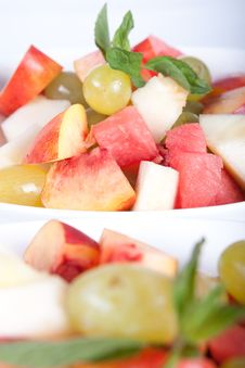 Colorful Fruit Salad Stock Photo